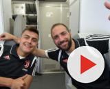 Paulo Dybala e Gonzalo Higuain (Foto: juventus.com)