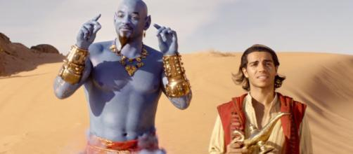 Disney considering a sequel to live-action 'Aladdin.' [Image Credit] Will Smith/YouTube