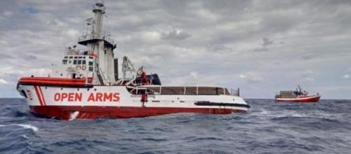 La nave della Ong spagnola Open Arms