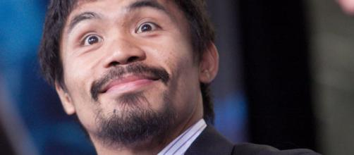 Manny Pacquiao has claim to the title as the greatest boxer ever – image credit: Robert Hughes/Flicker