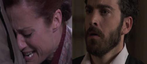 Una Vita, spoiler: la morte di Riera, Blanca furiosa con Diego per la scomparsa del figlio