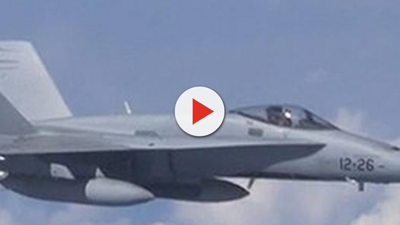 Incidente en el Báltico: Un F-18 español sostiene una confrontación con cazas rusos SU-27