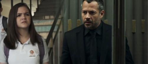 Cássia se revolta com o pai após vingança de Fabiana. (Reprodução/TV Globo)
