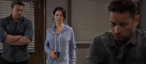 Drew and Liz forgave Franco but Jason and Sam can't. [Image Source: GH/YouTube]