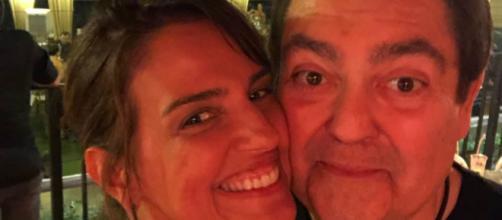 Fausto Silva e Luciana Cardoso são um casal com diferença de idade. (Reprodução/Instagram/@lucard)