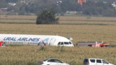 Russia, atterraggio d'emergenza in un campo: comandante eroe salva 226 passeggeri (video)
