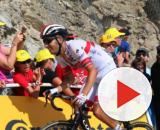 Fabio Aru impegnato al Tour de France