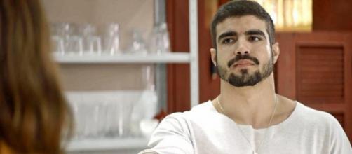 Público caiu nas graças do lutador. (Reprodução/TV Globo)