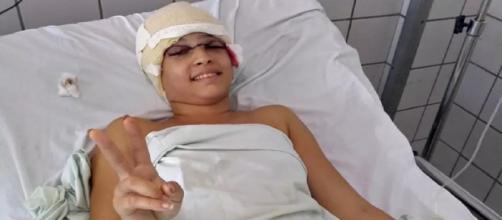 Jovem que sofreu acidente de kart está internada na UTI (Reprodução/Eduardo Tumajan/Acervo pessoal)