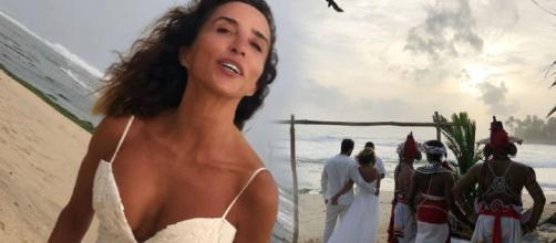 María Patiño se casa por sorpresa en Sri Lanka. / JALEOS