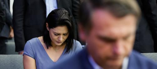Michelle estaria arrasada com exposição de família na mídia. (Arquivo Blasting News)