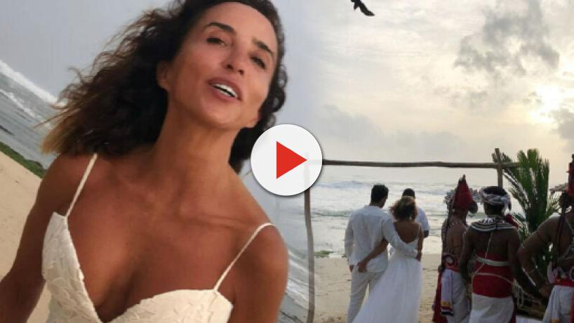 María Patiño y Ricardo Rodríguez se casan por sorpresa en Sri Lanka