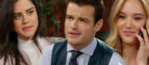 Kyle and Lola are married but Summer May still have a chance.(Image Source: CBS Y&R-YouTube.)