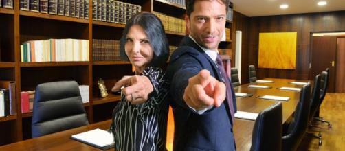 Marina (Nina Soldano) e Aldo (Luca Capuano)
