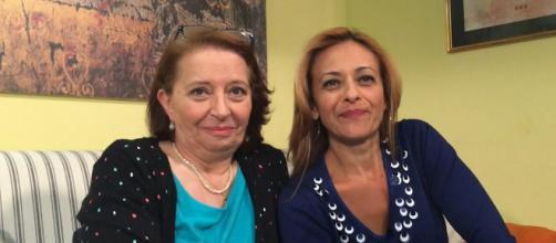 Teresa (Carmen Scivittaro) e Silvia (Luisa Amatucci)