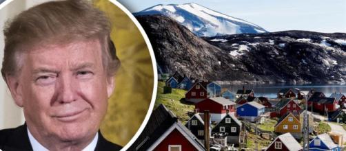 Trump quiere comprar Groenlandia.