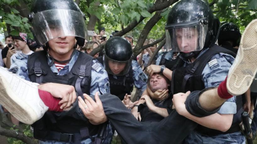 Protestar contra Putin en Rusia se transforma en una odisea