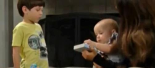 Steffy May want Douglas to replace Phoebe. (Image Source:CBS-YouTube.)