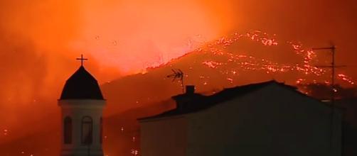 Un nuevo incendio en Gran Canarias que afecta a Tejeda.