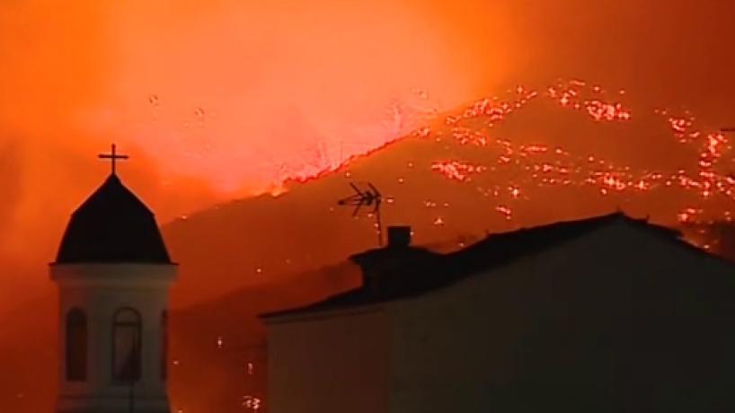 Un nuevo incendio en Gran Canaria afecta a Tejeda