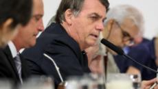 Bolsonaro evita jornalistas após reunião com Moro, diz jornal