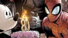 Topolino e gli Avengers festeggiano 80 anni di Marvel Comics