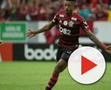 Bruno Henrique brilhou na vitória do Mengão no clássico contra o Vasco. (Reprodução/Instagram/@alexandrevidalfotografo)
