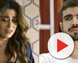 Maria pedirá desculpas por ter duvidado do lutador. (Reprodução/Rede Globo)