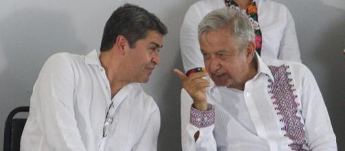 Los presidentes de Honduras y México buscan mejoras agrícolas.
