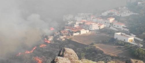 Spagna, un altro grosso incendio devasta l'isola di Gran Canaria: evacuati in 5.000