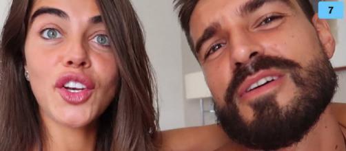 Violeta y Fabio, en un vídeo de la plataforma Mtmad. / Mediaset