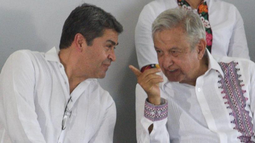 El presidente de Honduras realiza visita de trabajo en Chiapas