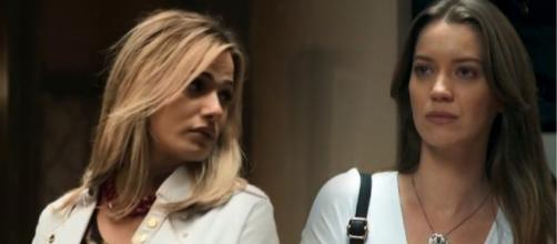 Britney será humilhada por Fabiana na novela da Globo. (Reprodução/ TV Globo)