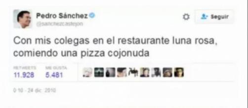 """El restaurante donde Pedro Sánchez comió una pizza """"cojonuda"""""""