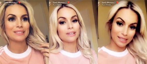 Enceinte, Carla Moreau se confie sur ses angoisees liées à la maternité