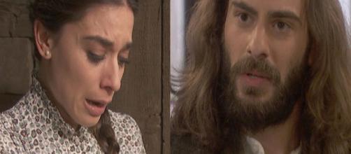 Il Segreto spoiler: Alvaro abbandona Elsa all'altare, Isaac vuole farla pagare al medico