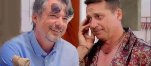 Michele (Alberto Rossi) e Cerruti (Cosimo Alberti)