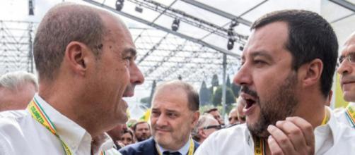 Nicola Zingaretti vorrebbe le dimissioni di Matteo Salvini