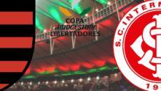 Flamengo x Internacional: partida ao vivo na TV Globo, nesta quarta (21), às 21h30