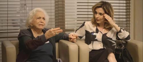 Gladys dispara verdades contra Jô. (Reprodução/ TV Globo)