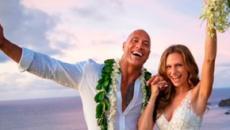 Dwayne Johnson se casa en secreto en Hawai con su novia y madre de sus dos hijas pequeñas
