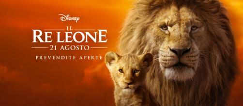 Arriva oggi, 21 agosto, nei cinema italiani Il Re Leone live-action (juorno.it).