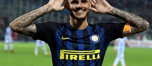 De Laurentiis afferma che Icardi vorrebbe andare solo alla Juve