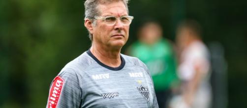Oswaldo está de volta às Laranjeiras. (Bruno Cantini/Atlético-MG)