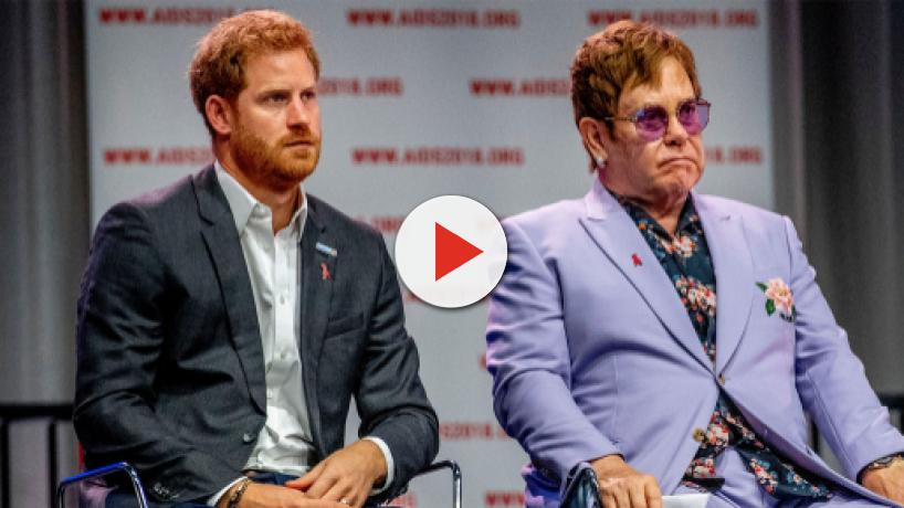 Elton John criticizes 'distorted and malicious' coverage of Harry, Meghan's holiday