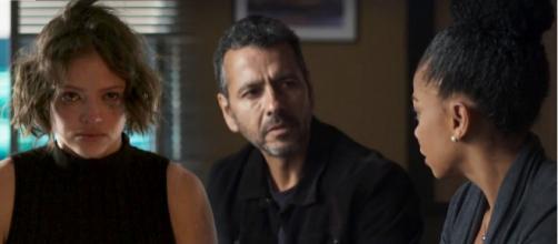 Amadeu se revolta com atitude da filha. (Reprodução/ TV Globo)