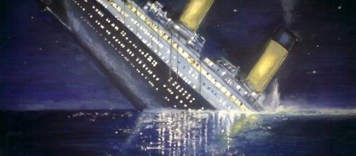 Il Titanic sta subendo i danni del tempo