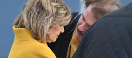 Bigote Arrocet y María Teresa Campos.