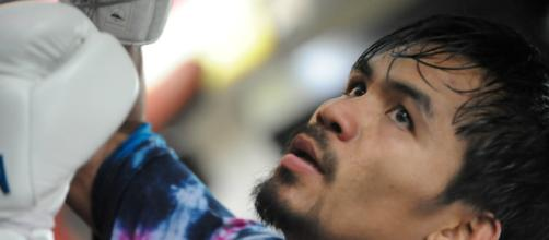 Manny Pacquiao will fighter whoever presented to him – image credit: Dan Johnson/Flickr Photos