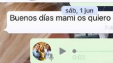 La viuda de Reyes publica el último mensaje del futbolista: 'Buenos días mami, os quiero'